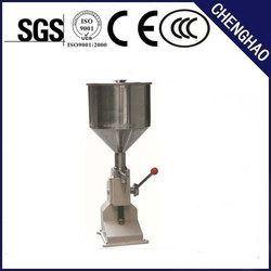 manual cosmetic tubes filling machines