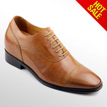 2012 new style man elevator dress shoes
