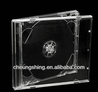 10.4 mm cd jewel case with clear tray