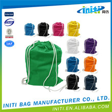 Hot product new design natural unbleached cotton drawstring bag