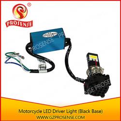 High/ Low Beam Motorcycle LED Driving Light (Black Base)
