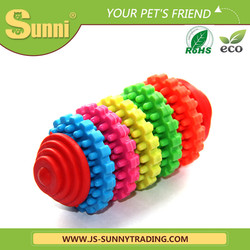 Factory customised top quality rubber dog toy