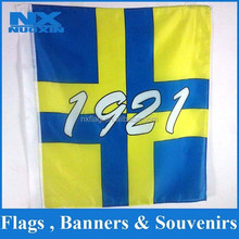 custom polyester printed outdoor flag /wholesale promotion outdoor banner /cheap double stitched outdoor advertising flag