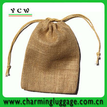jute drawstring pouch for promotion gift