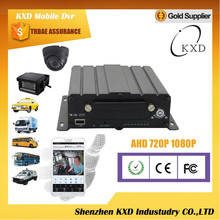 KXD 4ch 3g mobile dvr vehical dvr supported software monitor,webiste monitor and phone monitor,AHD4F-3GW
