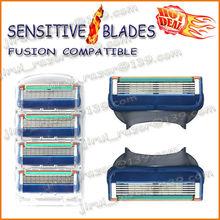 Compatible Gillette Fusion Shaving Razor Blades