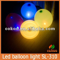 High quality multi color LED ballon flashing balloon light up balloon for christmas flashing novelty led balloon 500pcs