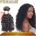 Mejor precio para 100% top qualiity remy brasileño virginal del pelo rizado Afro rizado, paquetes baratos de cabello humano