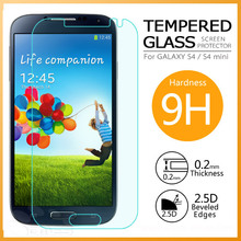 2.5D 9H 0.2mm Upper High Good Quality Best Selling Tempered Glass Screen Protector for S4