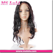 classic design can be dyed competitive price grey hair lace wig for old woman