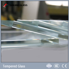 Ultra clear toughened glass for department