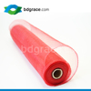 A17 China Wholesale 21inch Red Poly Deco Solid Mesh Floral Wrap Paper Mesh Netting Ribbon