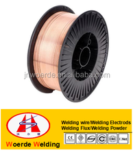 CO2 copper coated Welding MG Wire AWS A.5.18 ER70S-6