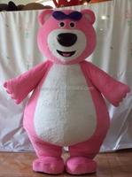 HP-Costume562 cute cartoon care bear mascot costume for children