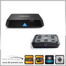 Android 4.4 video call android tv box with camera android 4.4 xbmc box amlogic S802 quad core