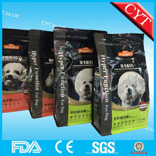 1KG 3KG 5KG stand up dog food bag with zipper