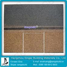 Hangzhou Manufacutrer Light Weight and Cost Saving 3-tab Asphalt Roofing Shingle