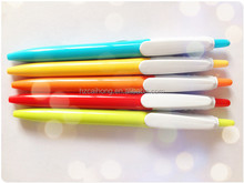 2015 facoty New style cheap promotion ballpoint pen , big clip pen ,logo pen CH6501