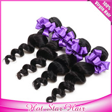 Better quality peruvian human hair extensions virgin remy hair wigs loose wave
