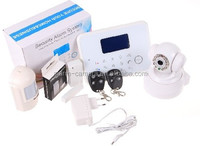 Stable work Android+IOS APP GSM + PSTN dual alarm work & home security alarm system with APP download google play store