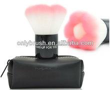 1Pcs Bi-color Pink Flower Shape Makeup Kabuki Brush