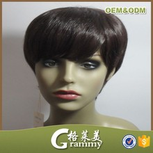 Best selling hot products hair short wigs china human hair wigs manufacture