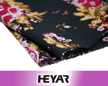 2016 Fashion Woven 60S 60GSm Flower Printed 100% Organic Cotton Voile Material Fabrics Textile for Woman Dress/Scarf