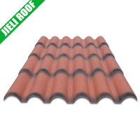 Roma style plastic corrugated roofing sheet for shed