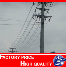 45ft outdoor wood power pole in Philippines