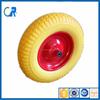 Wheelbarrow flat wheel,solid rubber wheel 16x4.00-8
