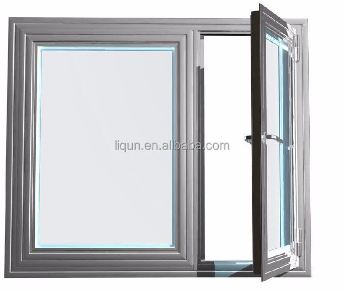 2015 top ten sale aluminum casement window drawing steel for Windows 4 sale