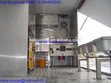mobile cooking van export to south american market ice cream making machine for sale