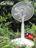 Green 35W Brushless Motor Electric Fan