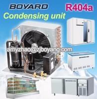 RCM-W R404a boyard mini refrigeration unit with hermetic horizontal refrigerator compressor for mini cooling unit