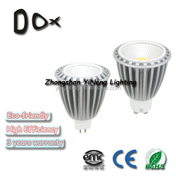 most popular products for home 3 years warranty 10w dc12v gu10 cob spotlight led