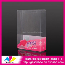 Alibaba China Packaging Box Factory Custom Beautiful Plastic Clear PVC PET Packaging For Birthday Candles Box