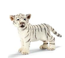 Lifelike zoo animal toy plastic tiger, Plastic zoo animal set toy,Custom realistic zoo animals plastic toy