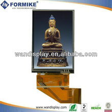 3.5 inch LCD display TFT flatscreen module with resistive touch