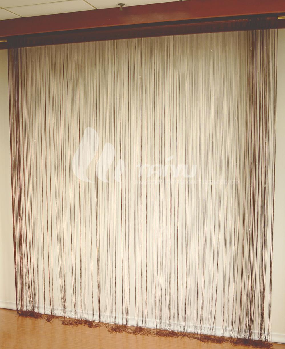 Bruine kralen lint voor slaapkamer gordijnen gordijn product id ...
