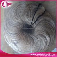 Grade 7Aliexpress Virgin Hair Black Synthetic Hair Bun