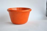 Circular Mini green biodegradable plant fiber plant,Flower pot
