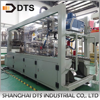 Automatic Box Wrapping Machine for PET Bottles
