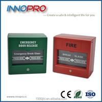Fire alarm door emergency break glass Manual Call Point (Innopro KF102)