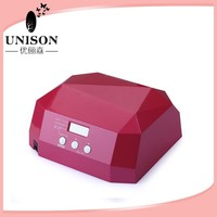 hot 36w ccfl & led nail drying machine rose red color