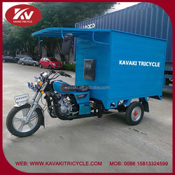 Fashion 150cc air-cooled bule closed china 3 wheel motor tricycle wholesale