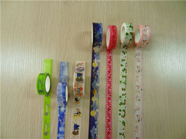 Belle mode mignon dessin anim japon washi masking tape for Bande adhesive decorative