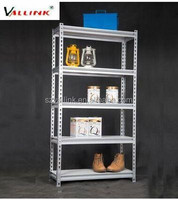 Cheap Custom CE Steel Corrosion Protection Boltless Rivet Shelving with keyhole slots