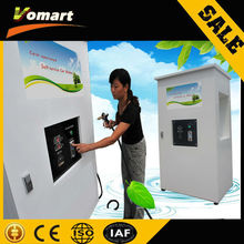 1.6KW 80 bar Auotmatic Coin/card operated car wash self service cleaner/high pressure self-service bubble wash