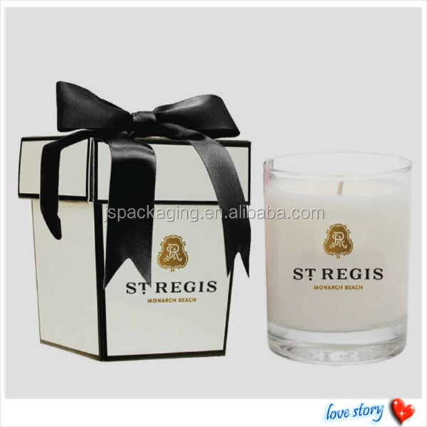 Cardboard Candle Boxes Candle Box Packaging With