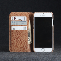Italian genuine leather flip cover case for iphone 6 4.7 inch high quanlity fashion style
